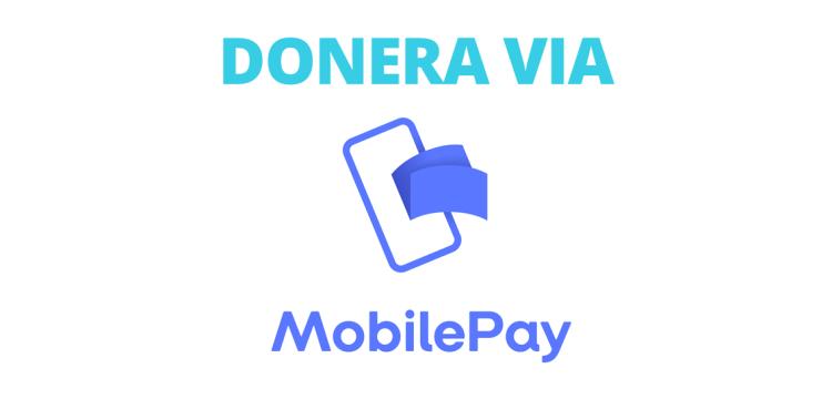 Donera via MobilePay